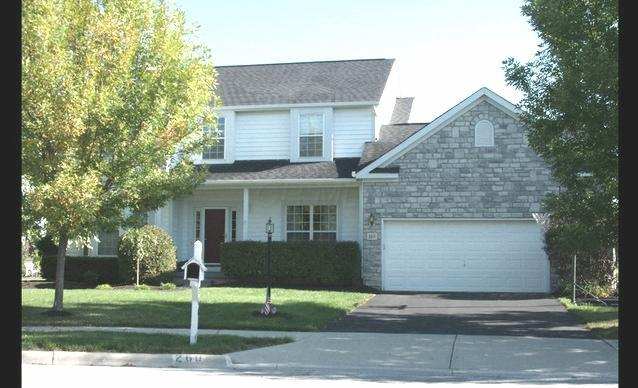 Photo of home for sale at 260 Cedarbend Court, Powell OH