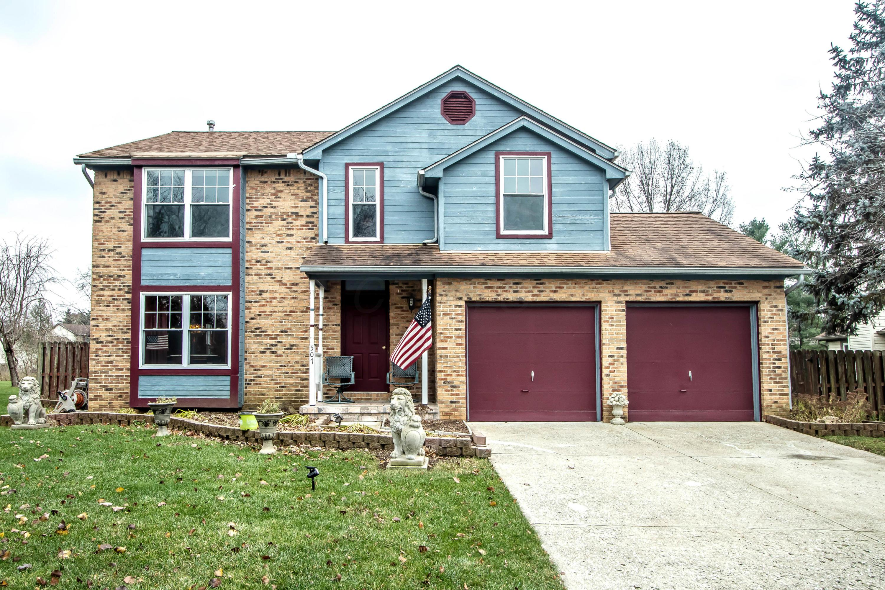 Photo of home for sale at 507 Beaverbrook Drive, Gahanna OH