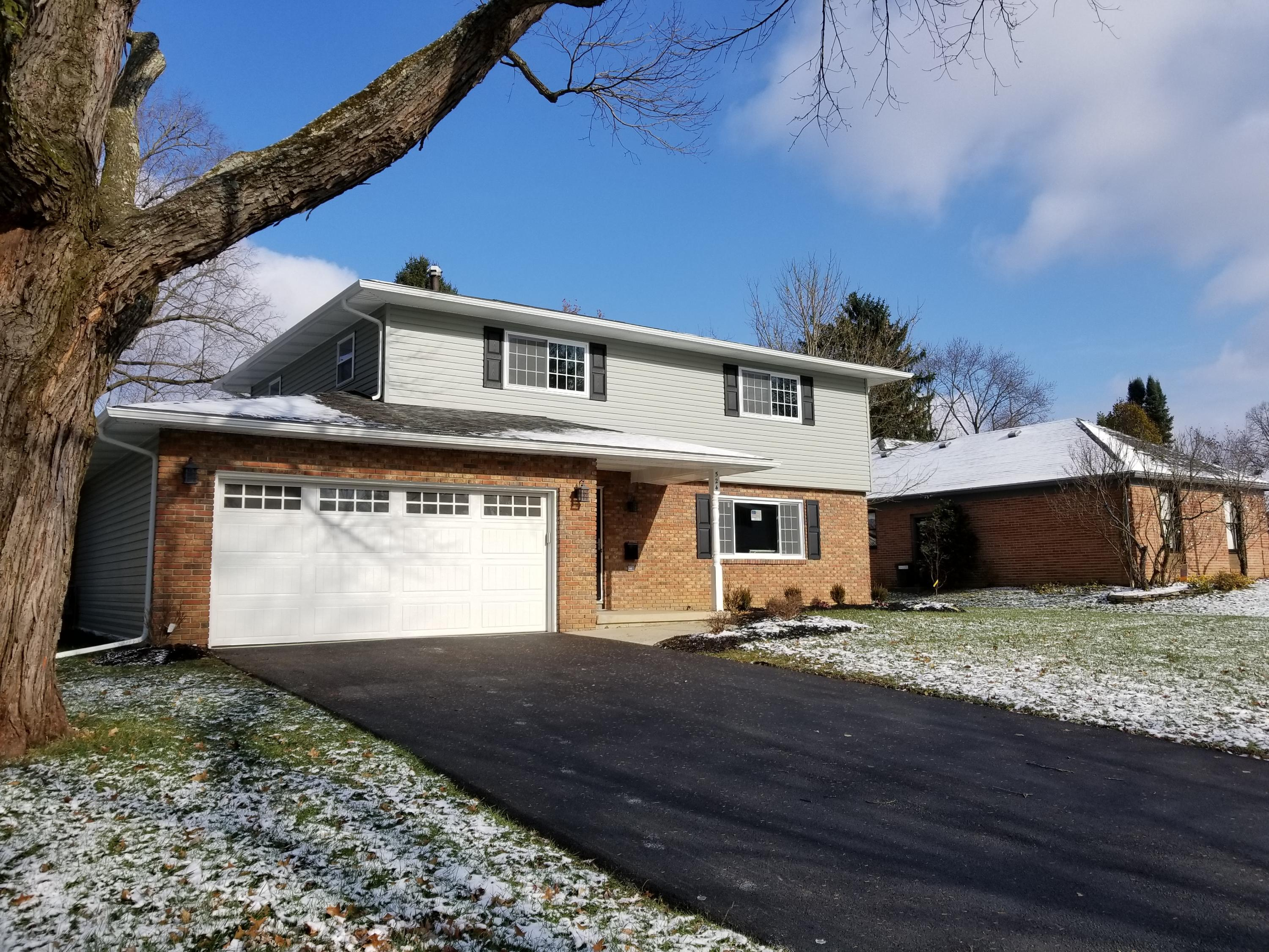 Photo of home for sale at 524 Longfellow Avenue, Worthington OH