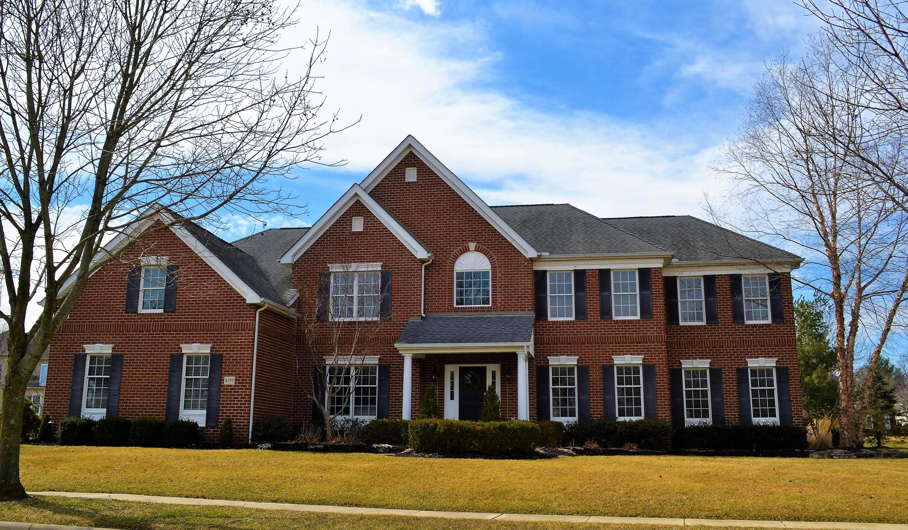 Photo of home for sale at 8299 Amberleigh Way, Dublin OH
