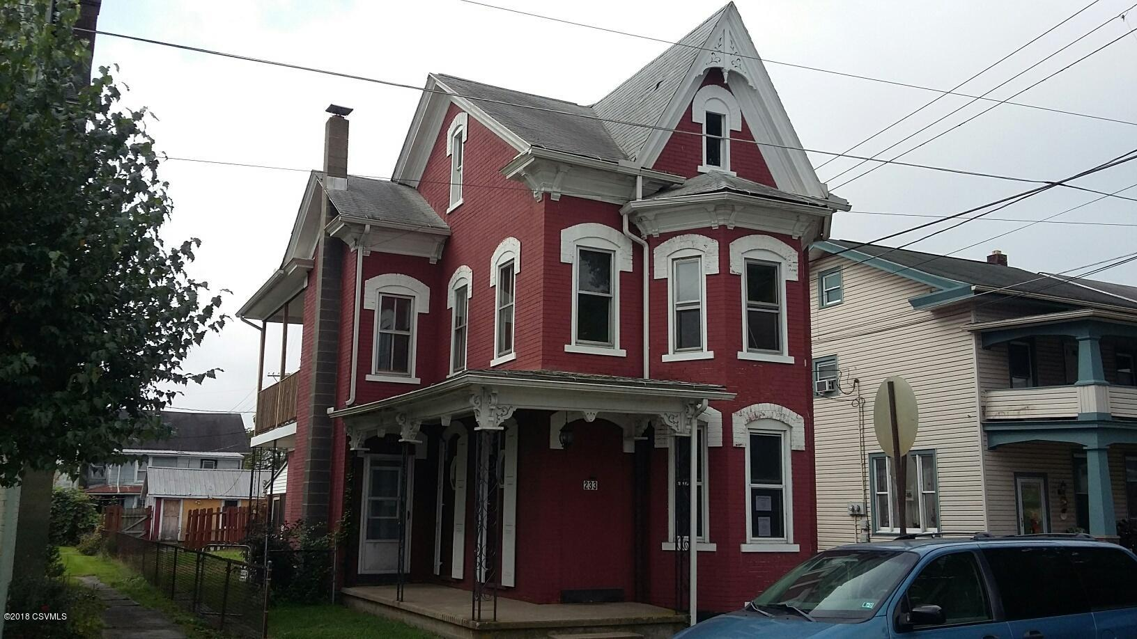 233 WALNUT Street, Sunbury, Pennsylvania