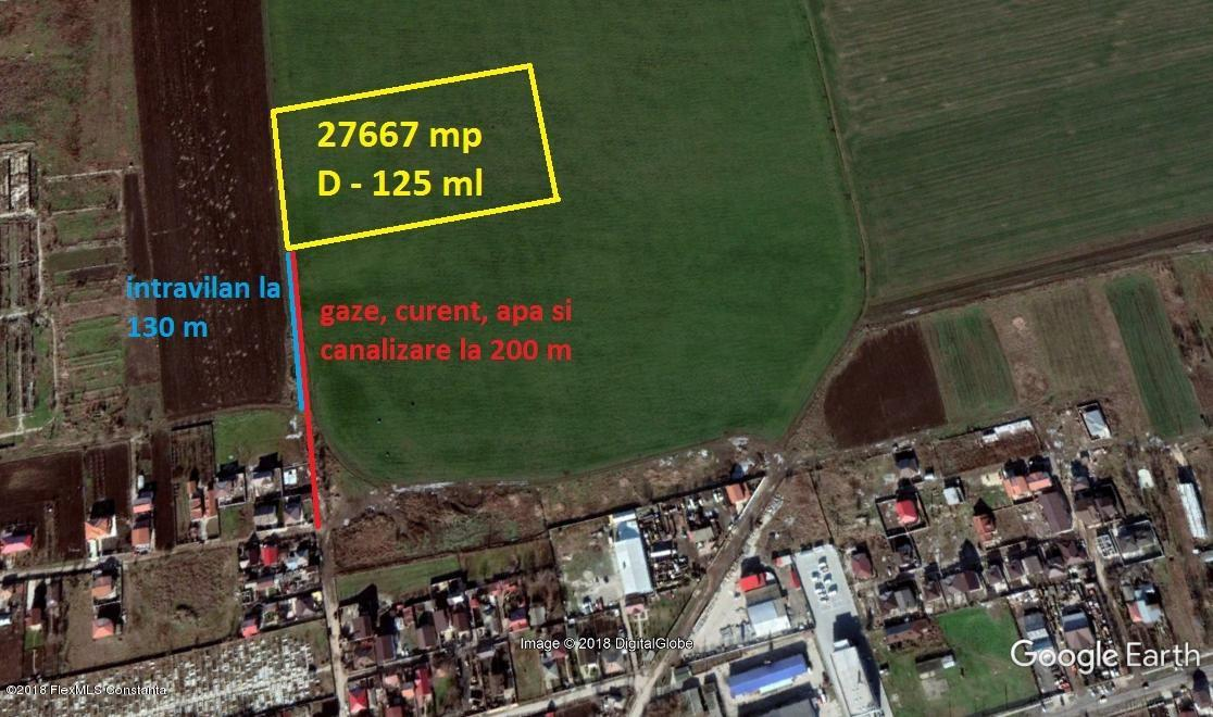 Vanzare Teren Intravilan 27667 m² - Cumpana, Cumpana