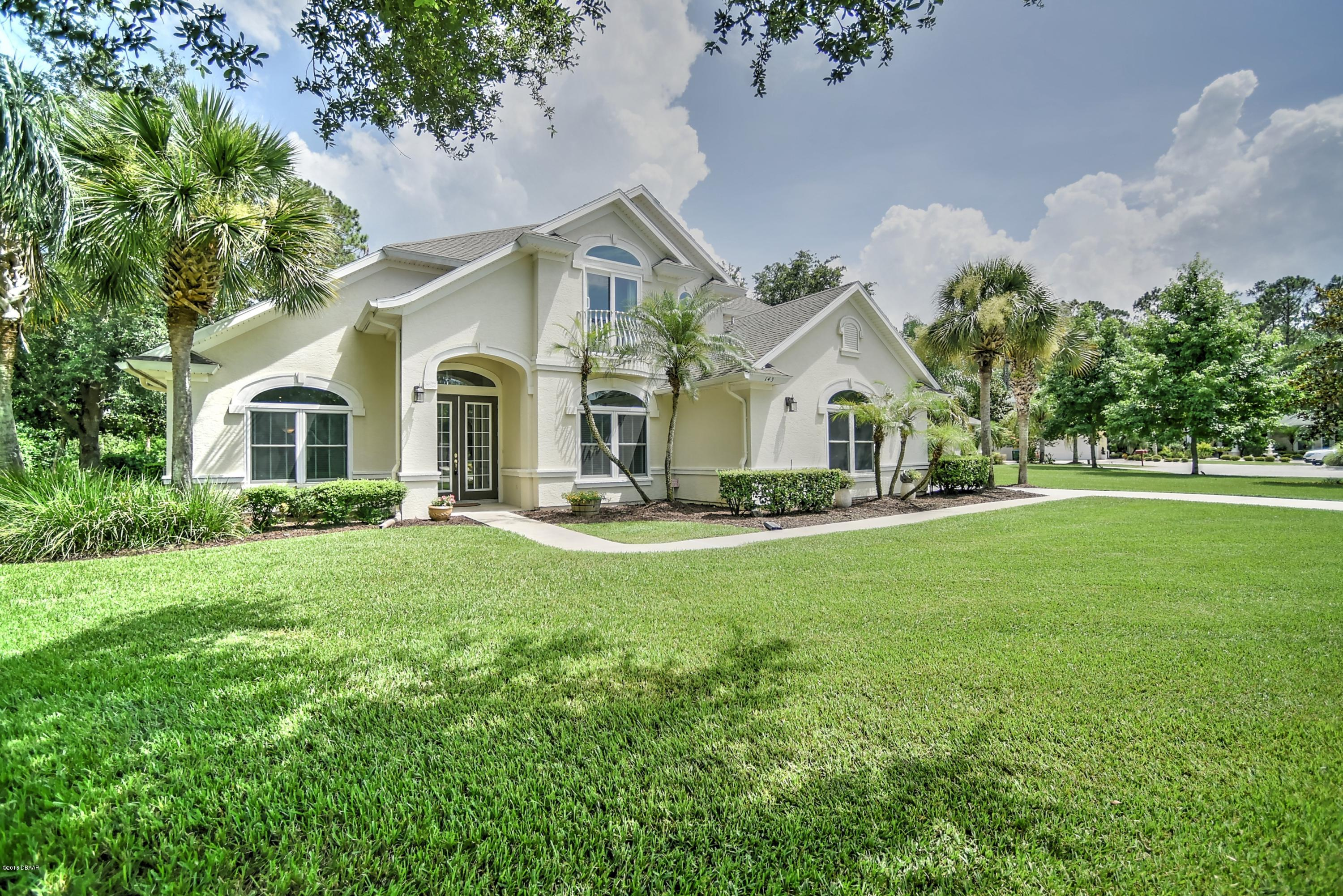 Photo of home for sale at 143 Deep WoodsWay, Ormond Beach FL