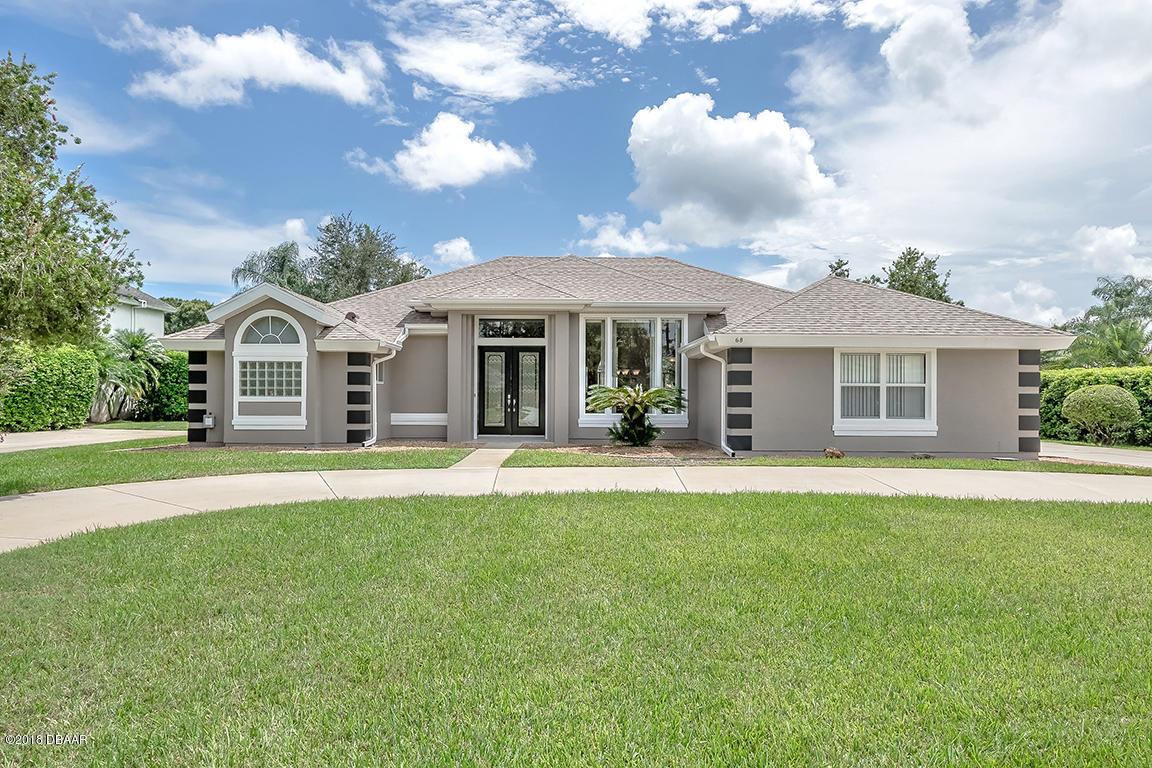 Photo of home for sale at 68 Coquina RidgeWay, Ormond Beach FL