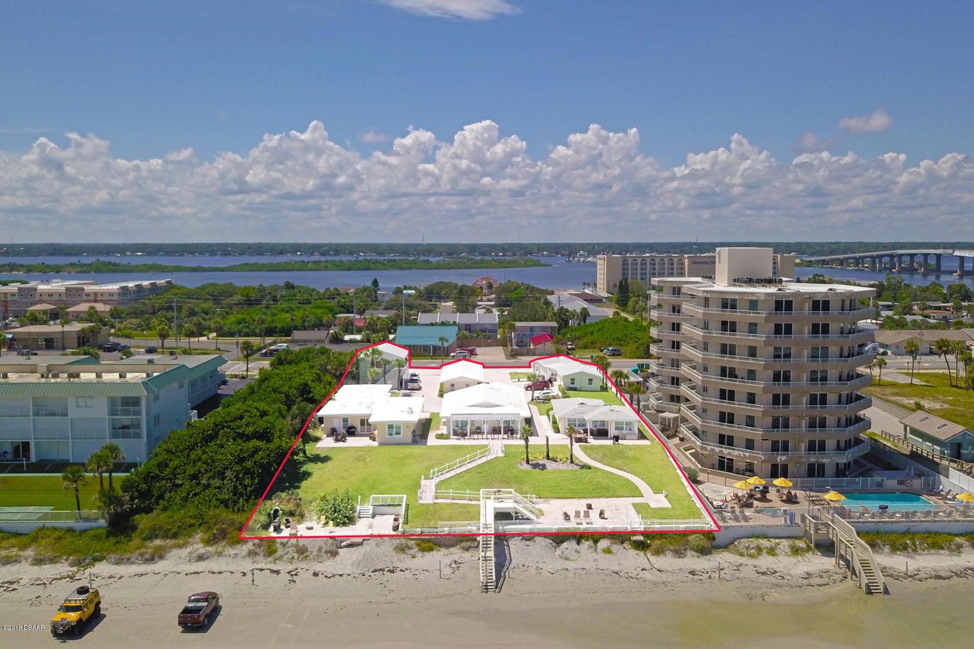 Photo of home for sale at 3631 AtlanticAvenue, Daytona Beach Shores FL