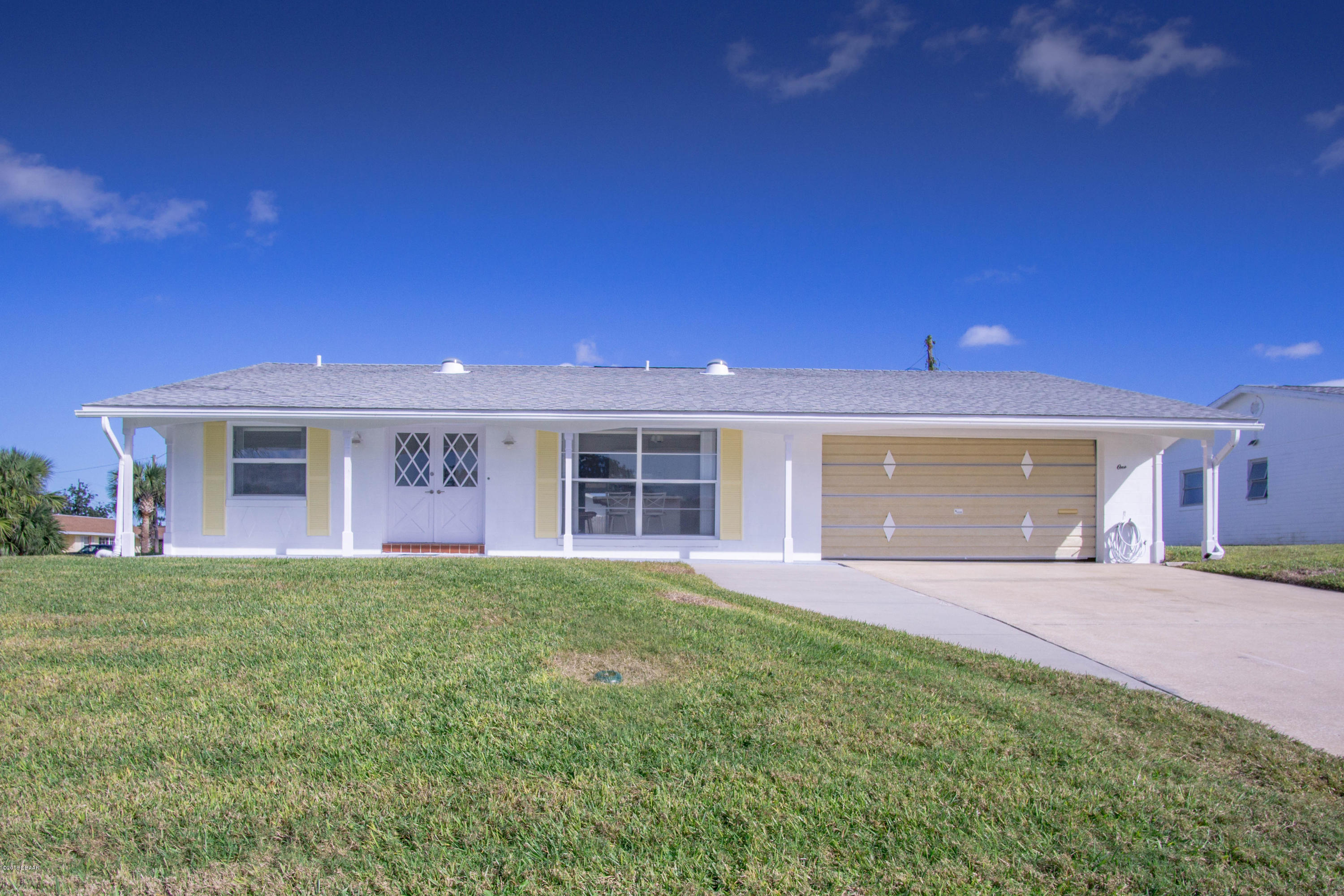 1  Evergreen Circle, Ormond-By-The-Sea in Volusia County, FL 32176 Home for Sale