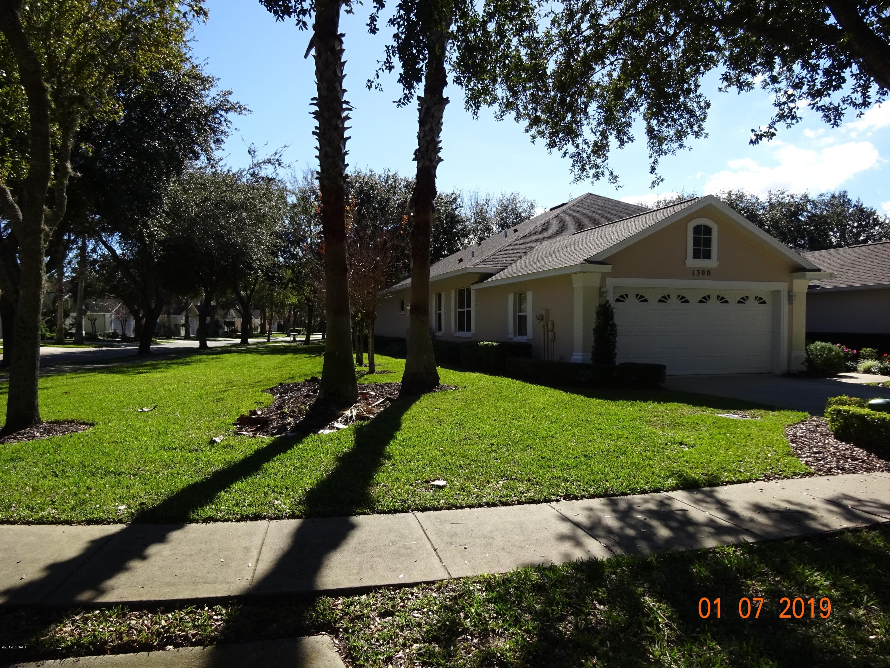 1300  Asher Court, Ormond Beach in Volusia County, FL 32174 Home for Sale