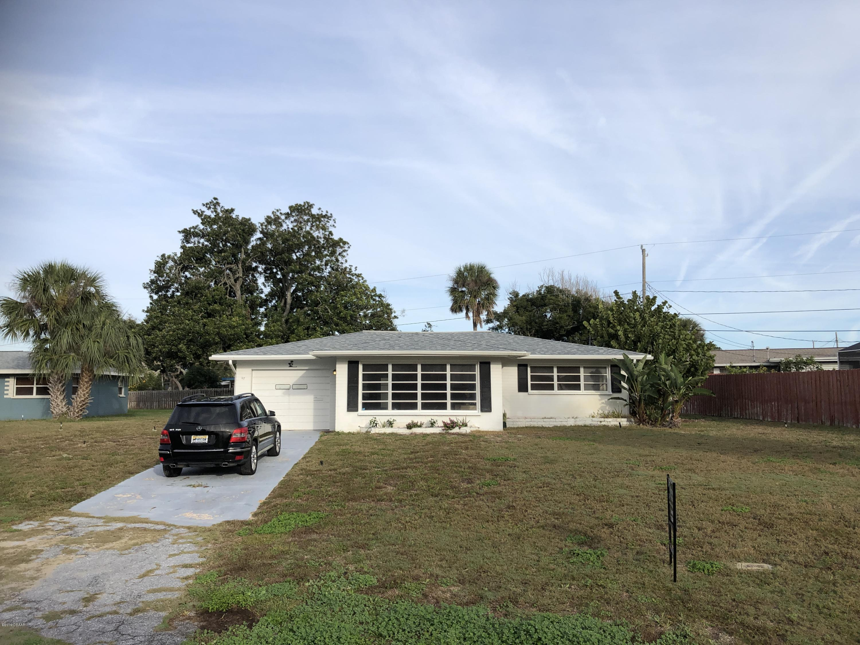 47  Sandra Drive, Ormond-By-The-Sea in Volusia County, FL 32176 Home for Sale