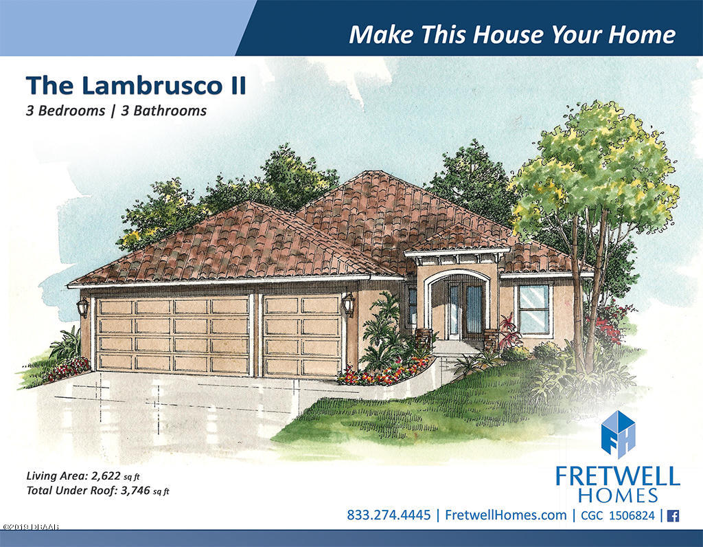 55  Thornhill Chase Circle, Ormond Beach in Volusia County, FL 32174 Home for Sale