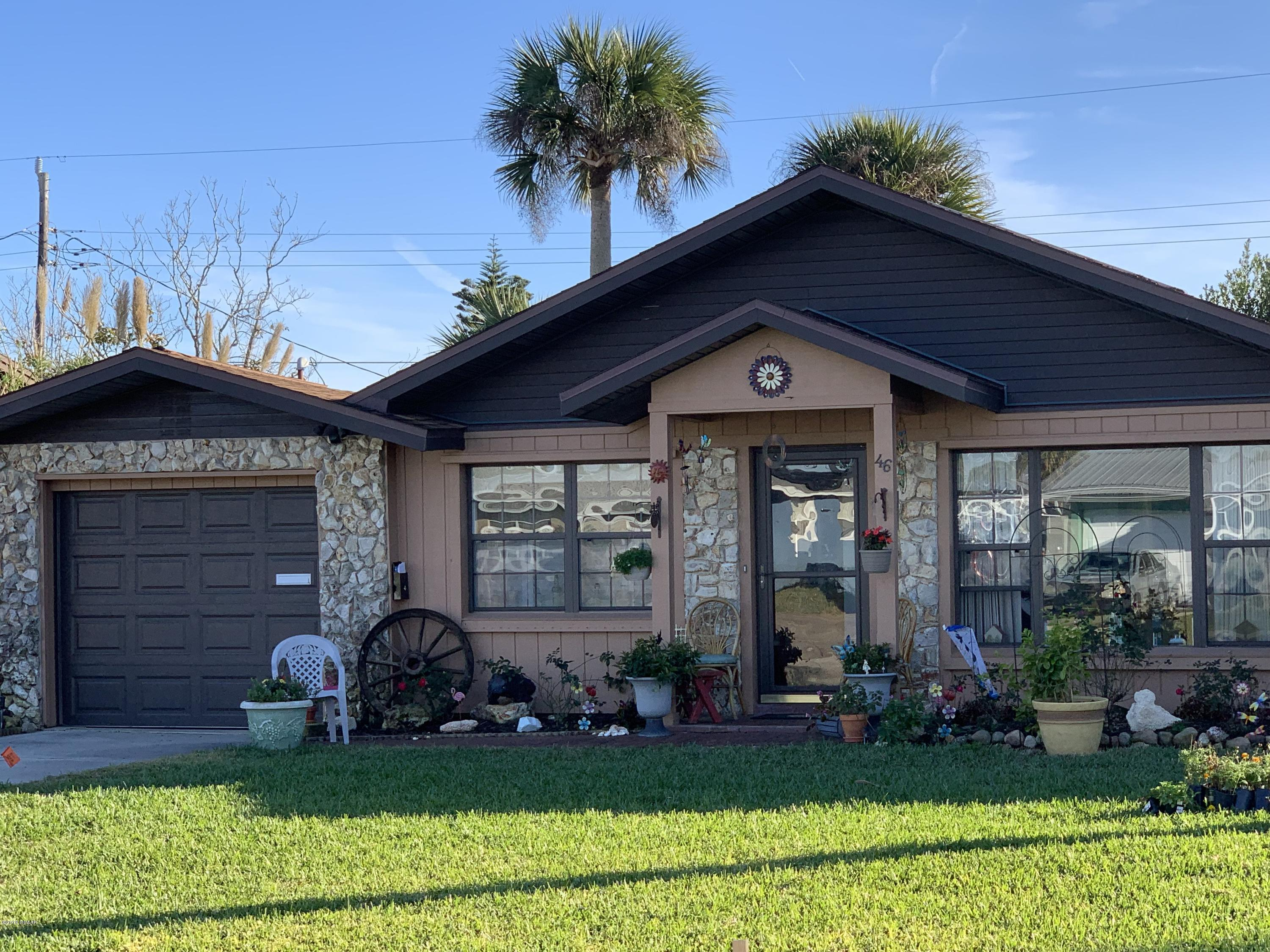 46  Ocean Crest Drive, Ormond-By-The-Sea in Volusia County, FL 32176 Home for Sale