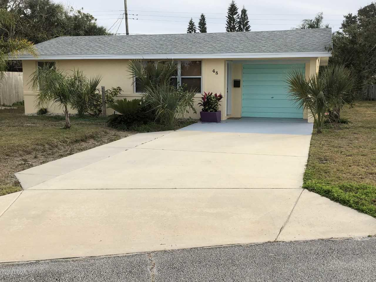 48  Palm Drive, Ormond-By-The-Sea in Volusia County, FL 32176 Home for Sale