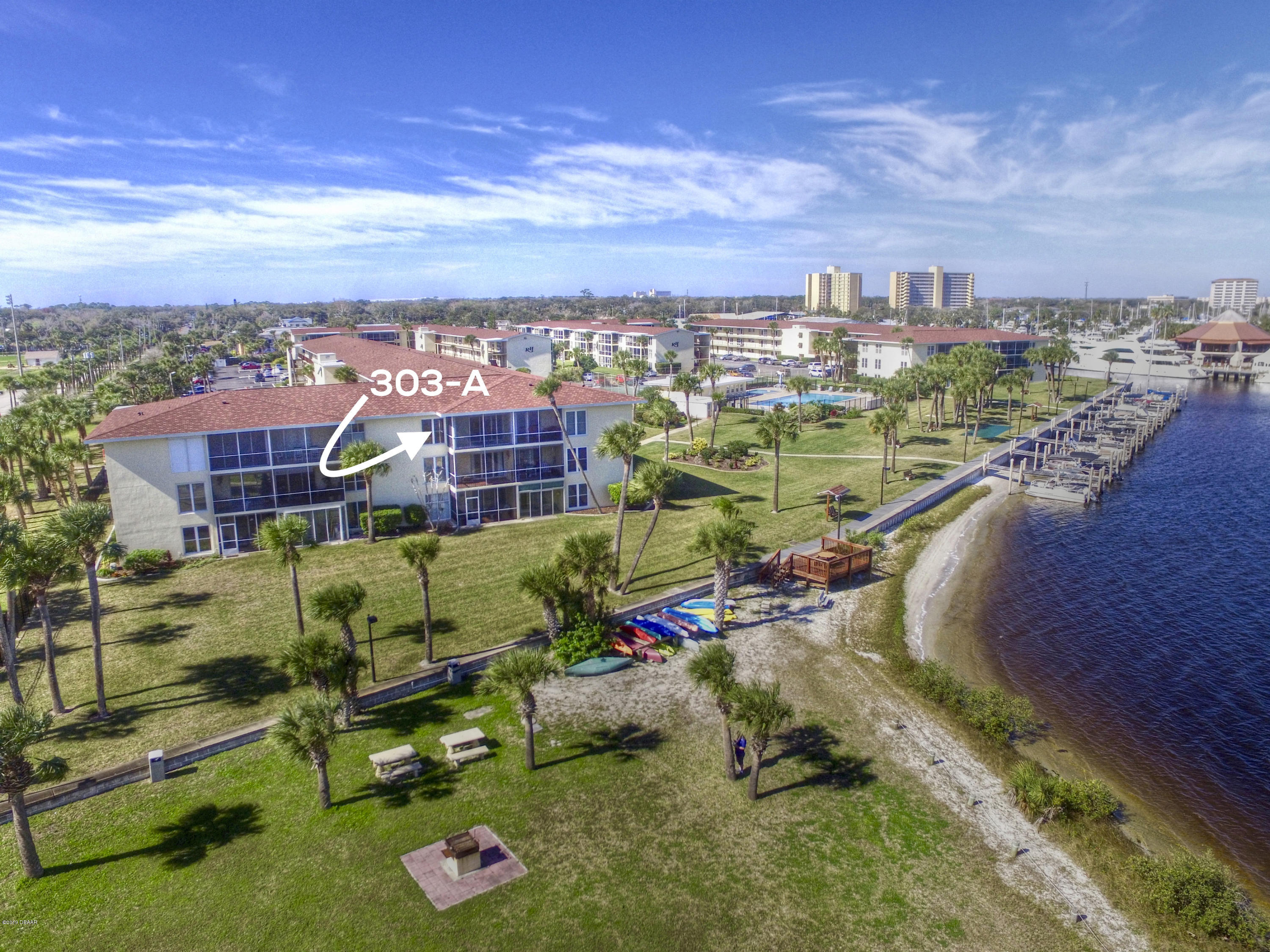 One of Daytona Beach 2 Bedroom Homes for Sale at 721 S Beach Street