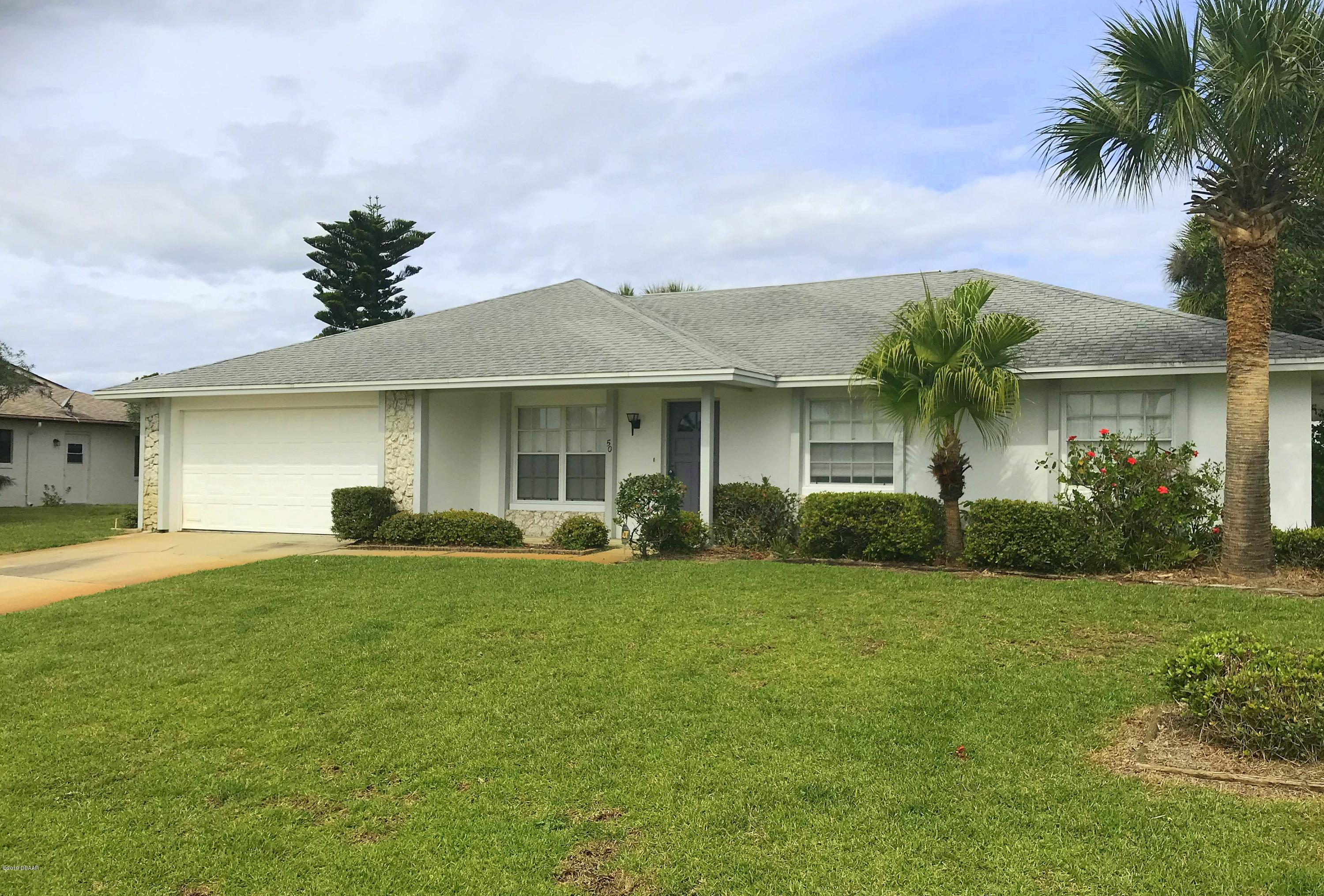50 N Sea Island Drive, Ormond-By-The-Sea in Volusia County, FL 32176 Home for Sale