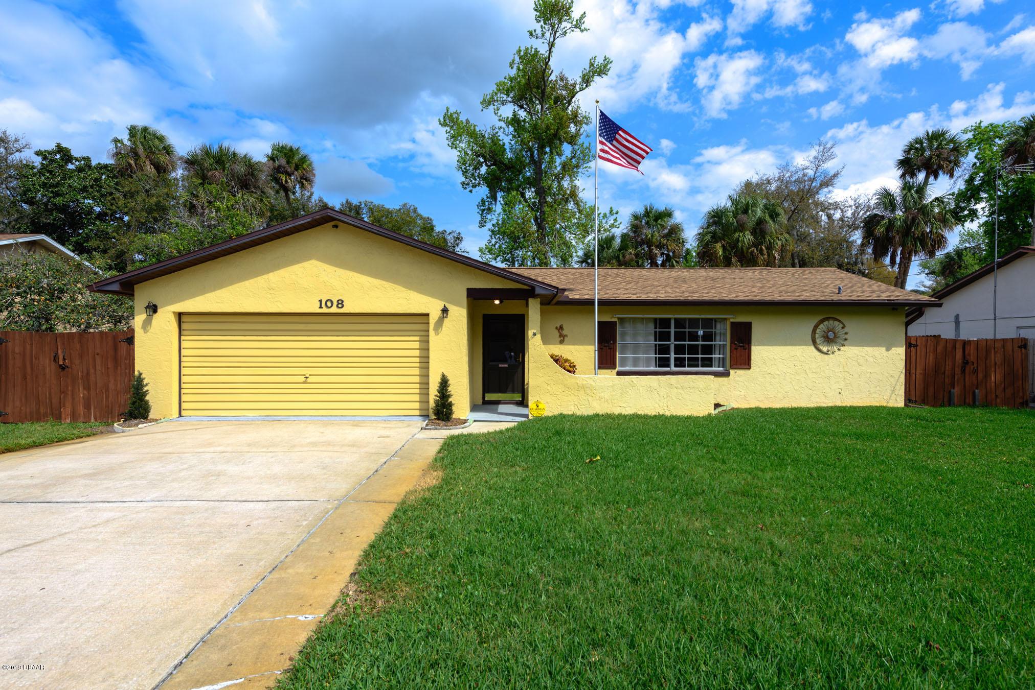 108  Camino Circle, Ormond Beach in Volusia County, FL 32174 Home for Sale
