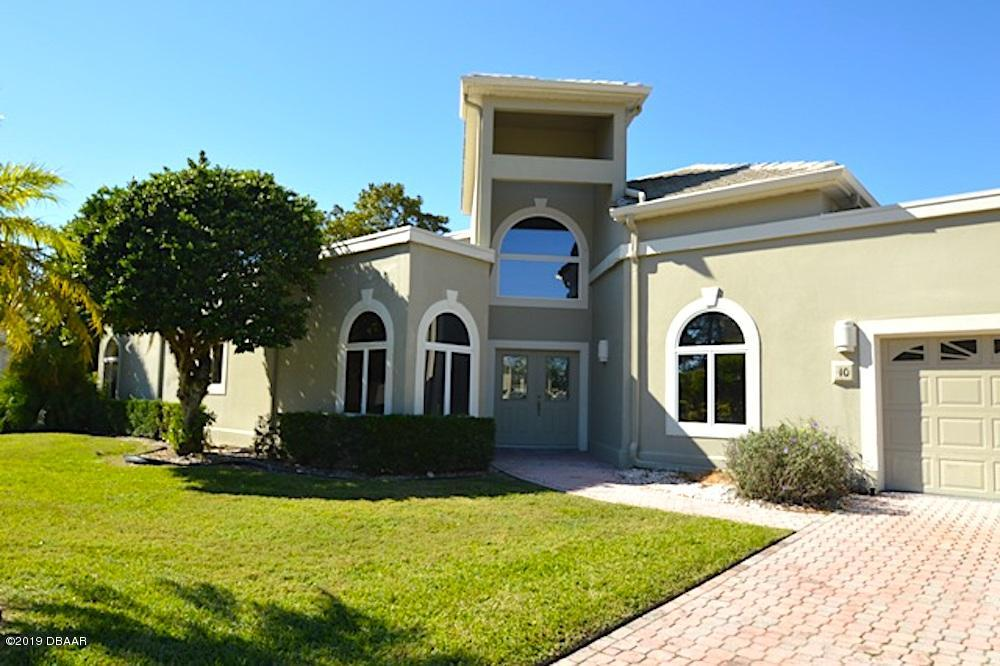 10  Bay Pointe Drive, Ormond Beach in Flagler County, FL 32174 Home for Sale