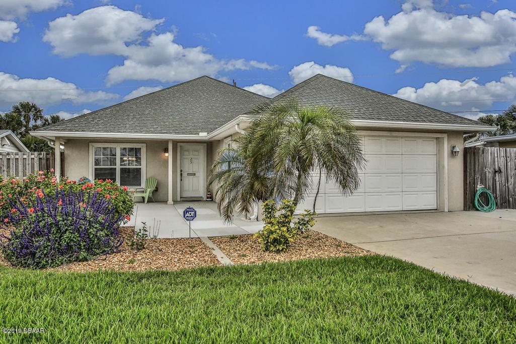25  Seabreeze Drive, Ormond Beach in Volusia County, FL 32176 Home for Sale