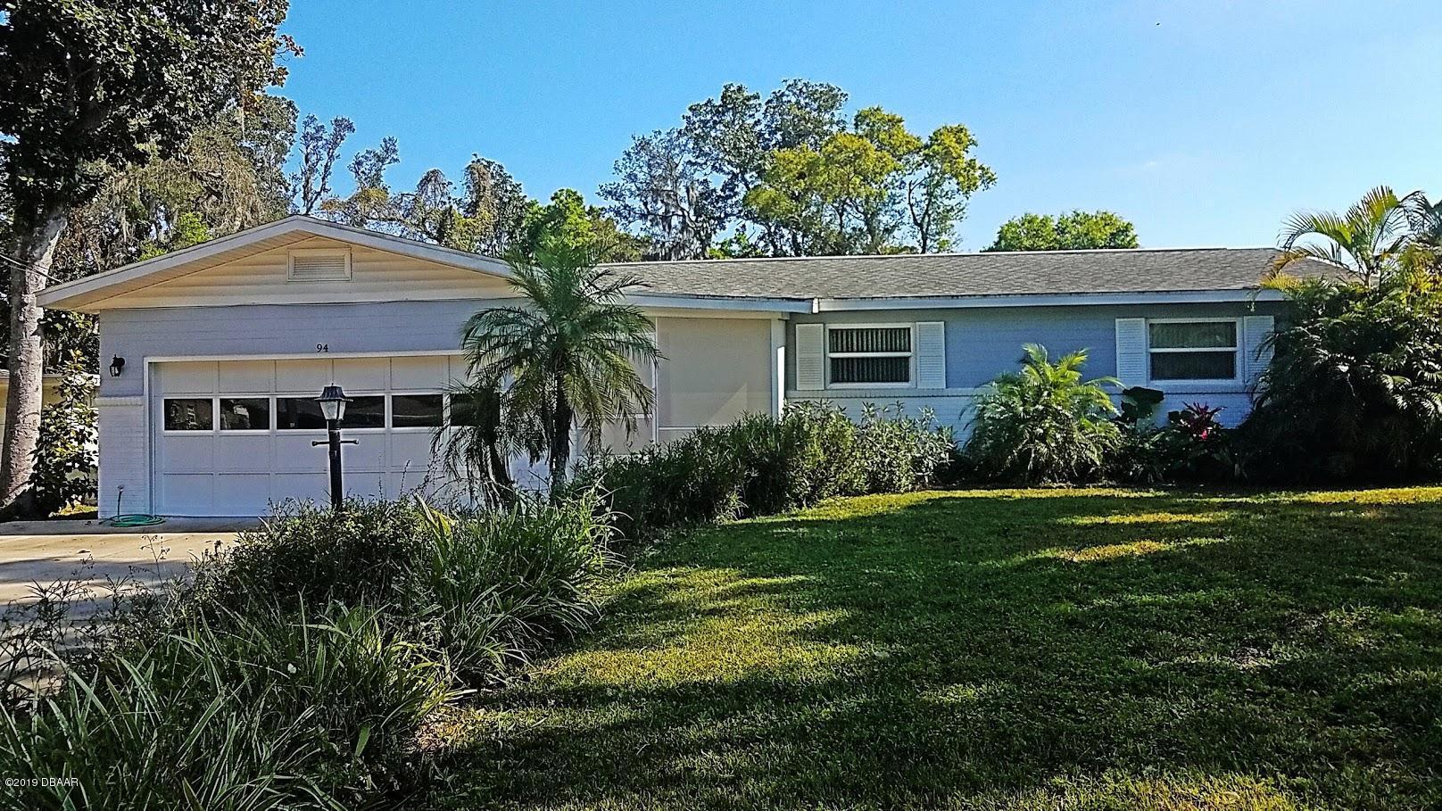 94  Warwick Avenue, Ormond Beach in Volusia County, FL 32174 Home for Sale