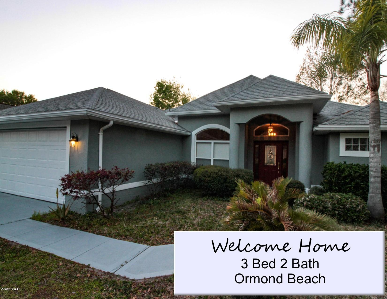 35  Ormond Green Boulevard, Ormond Beach in Volusia County, FL 32174 Home for Sale