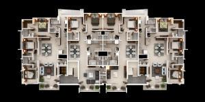 Apartamento En Venta En Santo Domingo, Viejo Arroyo Hondo, Republica Dominicana, DO RAH: 15-259