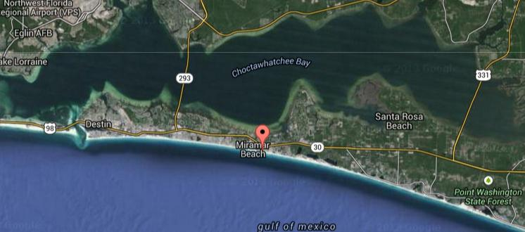 Photo of home for sale at Lot 3 Open Gulf, Miramar Beach FL
