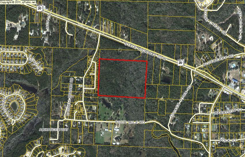 Photo of home for sale at 30 Acres Sr-20, Freeport FL