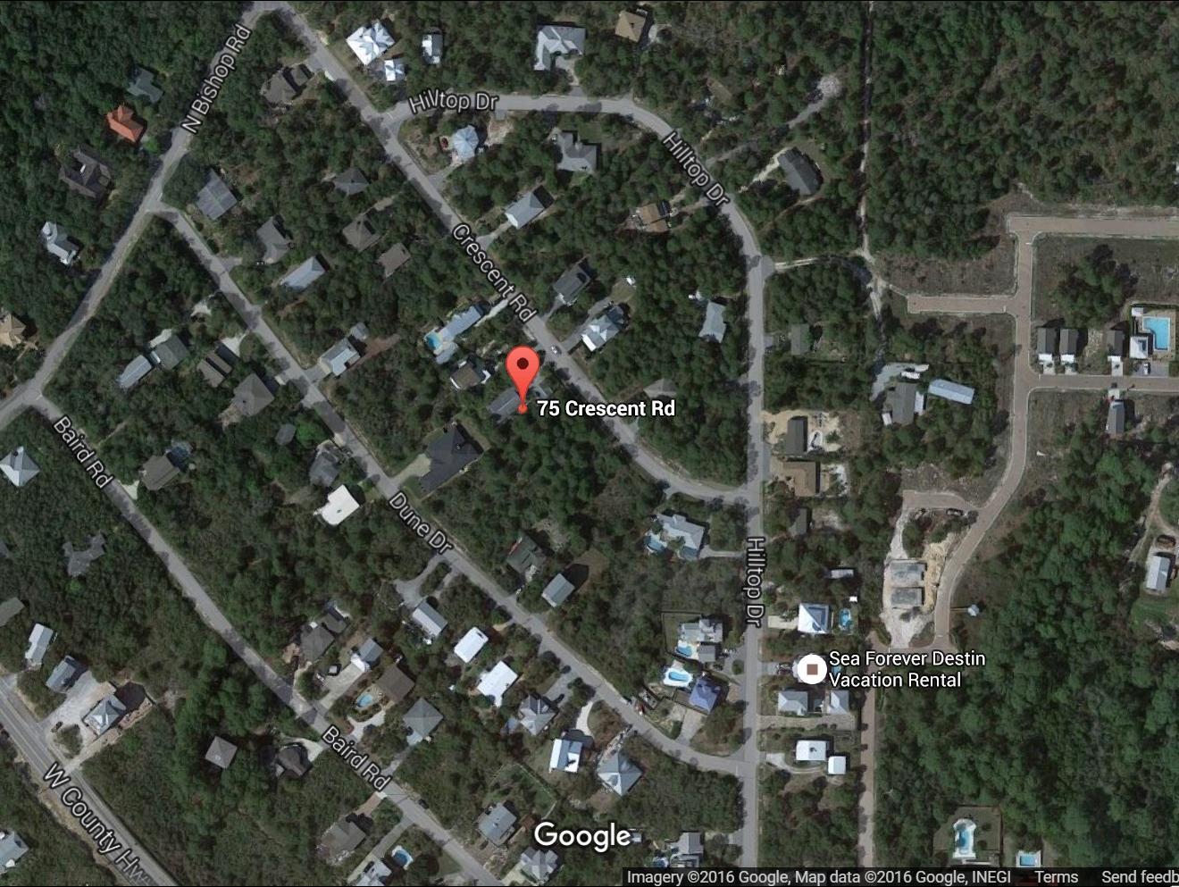 Photo of home for sale at 75 Crescent, Santa Rosa Beach FL