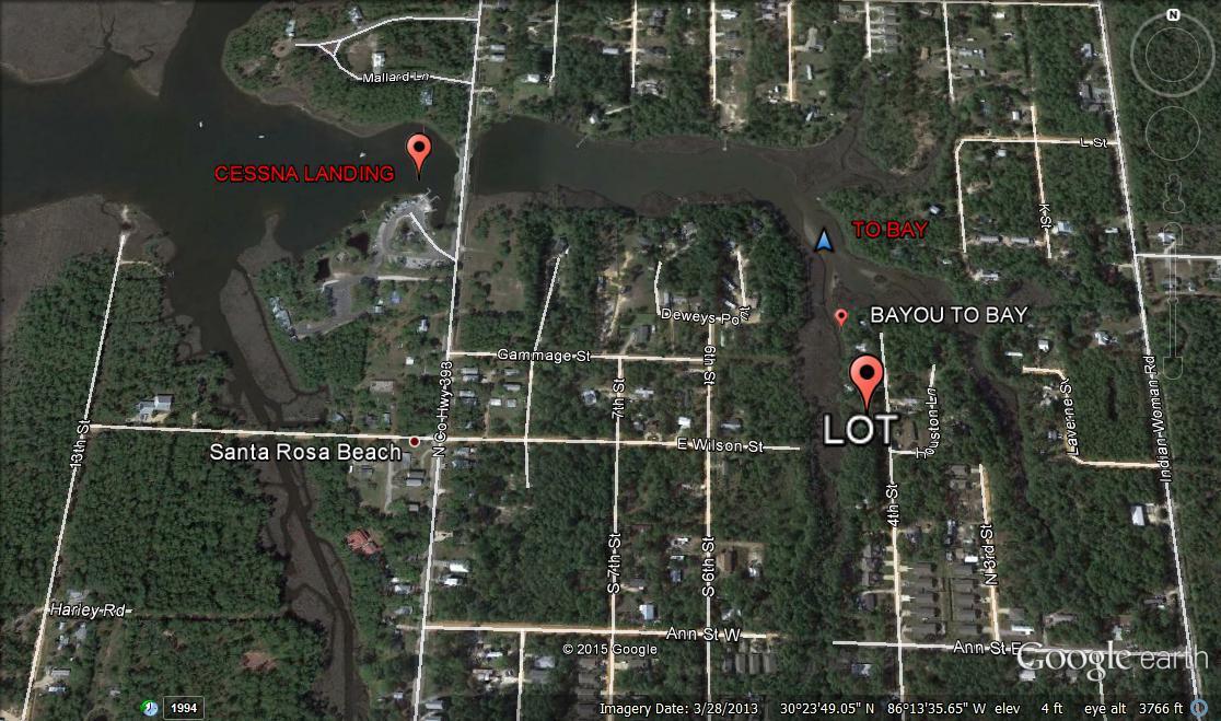 Photo of home for sale at Lot 8 4th, Santa Rosa Beach FL
