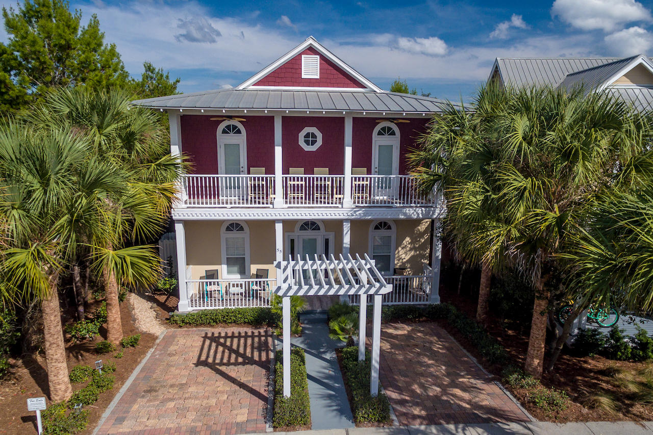 Photo of home for sale at 55 The Greenway, Panama City Beach FL
