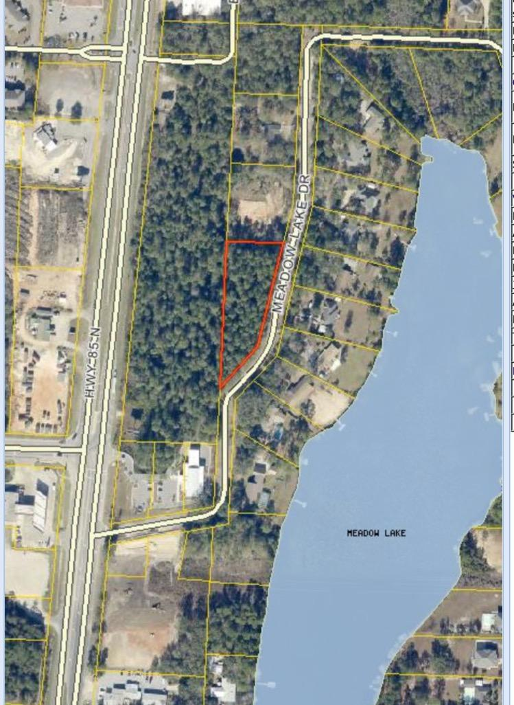 Photo of home for sale at TBD 1.27 Acres Meadow Lake, Crestview FL