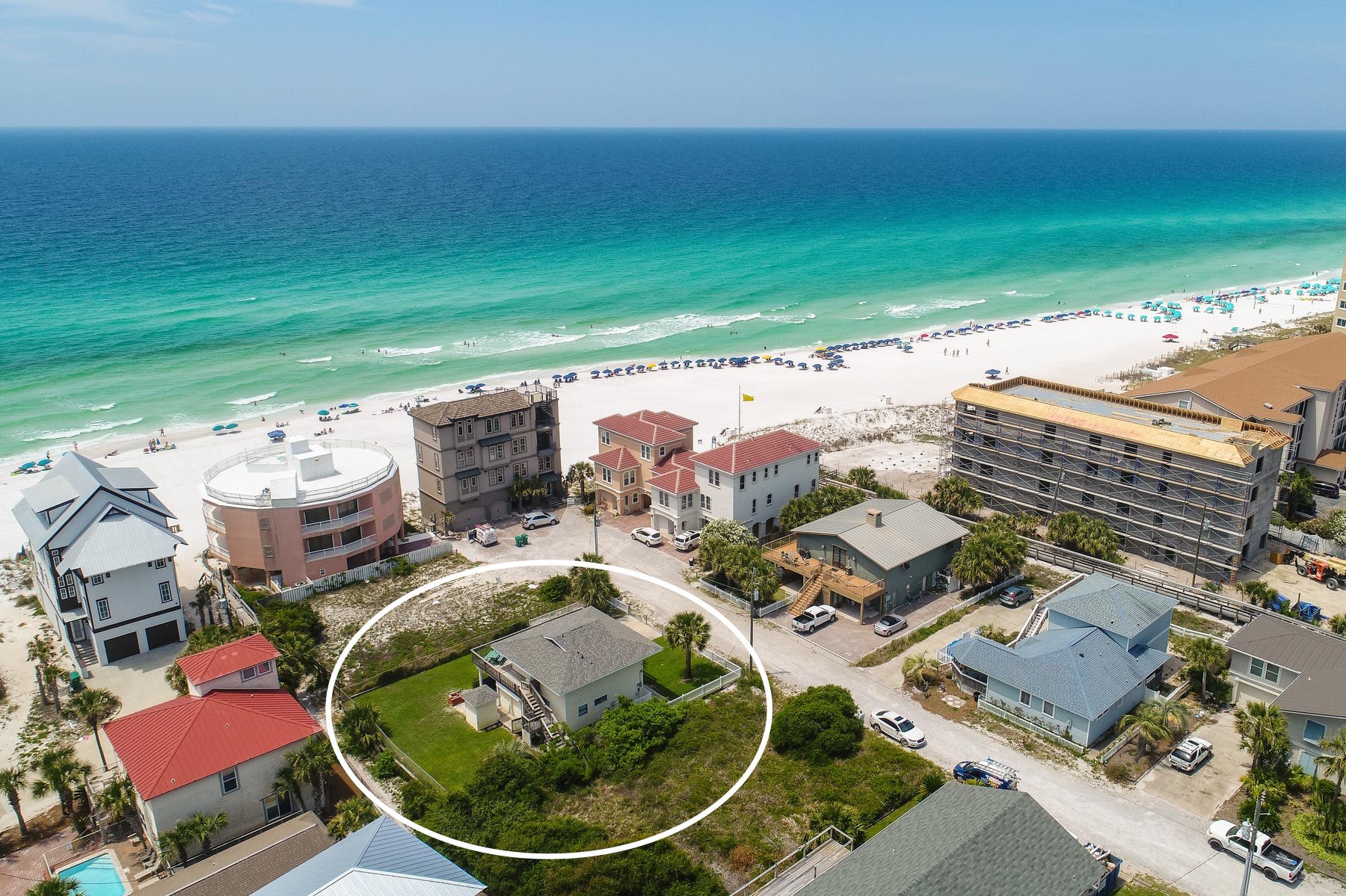 Photo of home for sale at 209 Norwood, Miramar Beach FL
