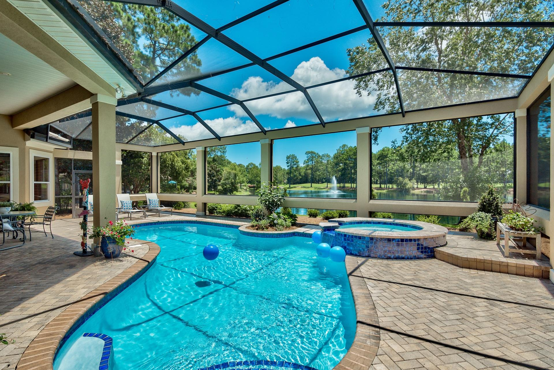 Photo of home for sale at 2914 Pine Valley, Miramar Beach FL