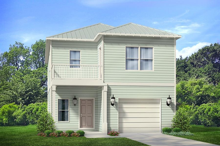 Photo of home for sale at 90 Grande Pointe Drive, Inlet Beach FL