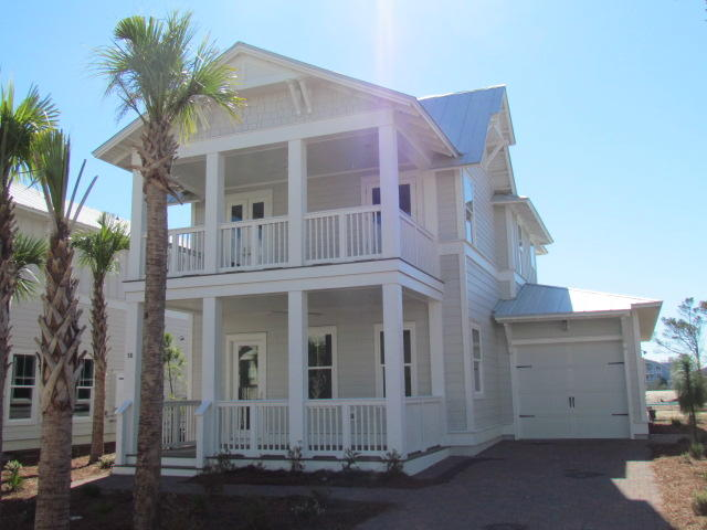 Photo of home for sale at 58 Clipper, Inlet Beach FL