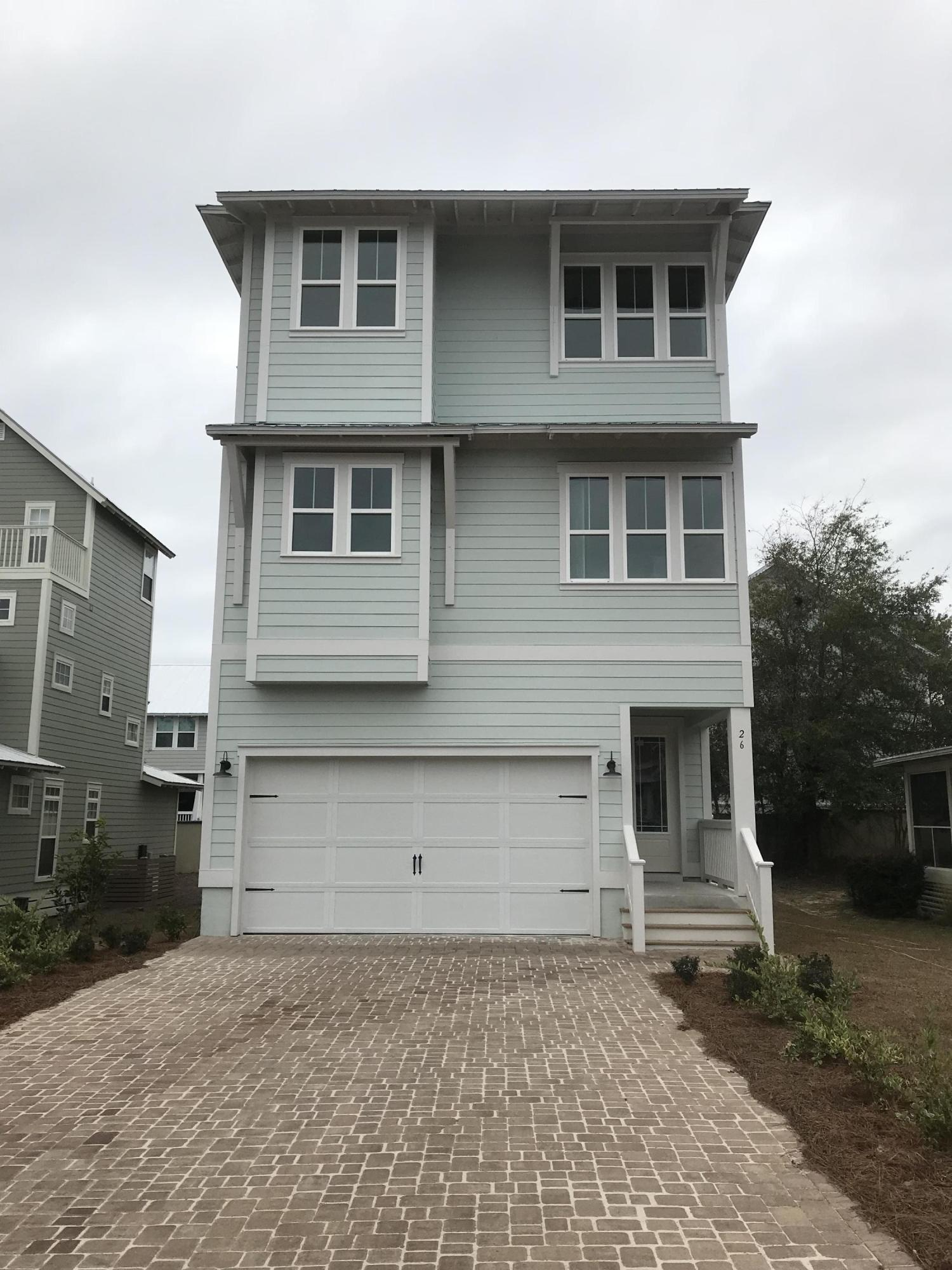 Photo of home for sale at 26 Grande Pointe, Inlet Beach FL