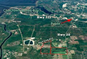 Property for sale at TBD198acre Hwy 20 East, Freeport,  FL 32439