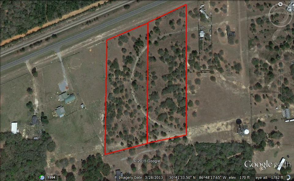 Photo of home for sale at 5 Ac Highway 90, Holt FL