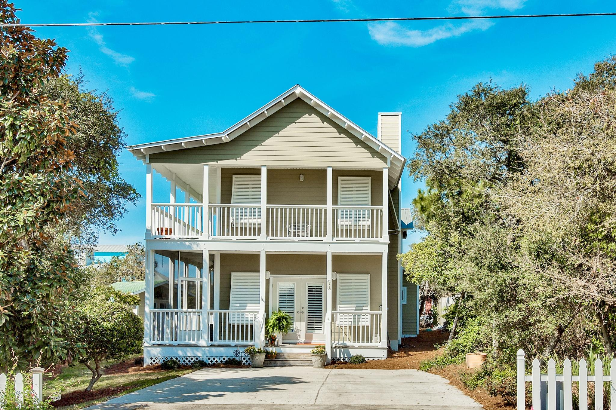 Photo of home for sale at 71 Walton Gulfview, Seacrest FL