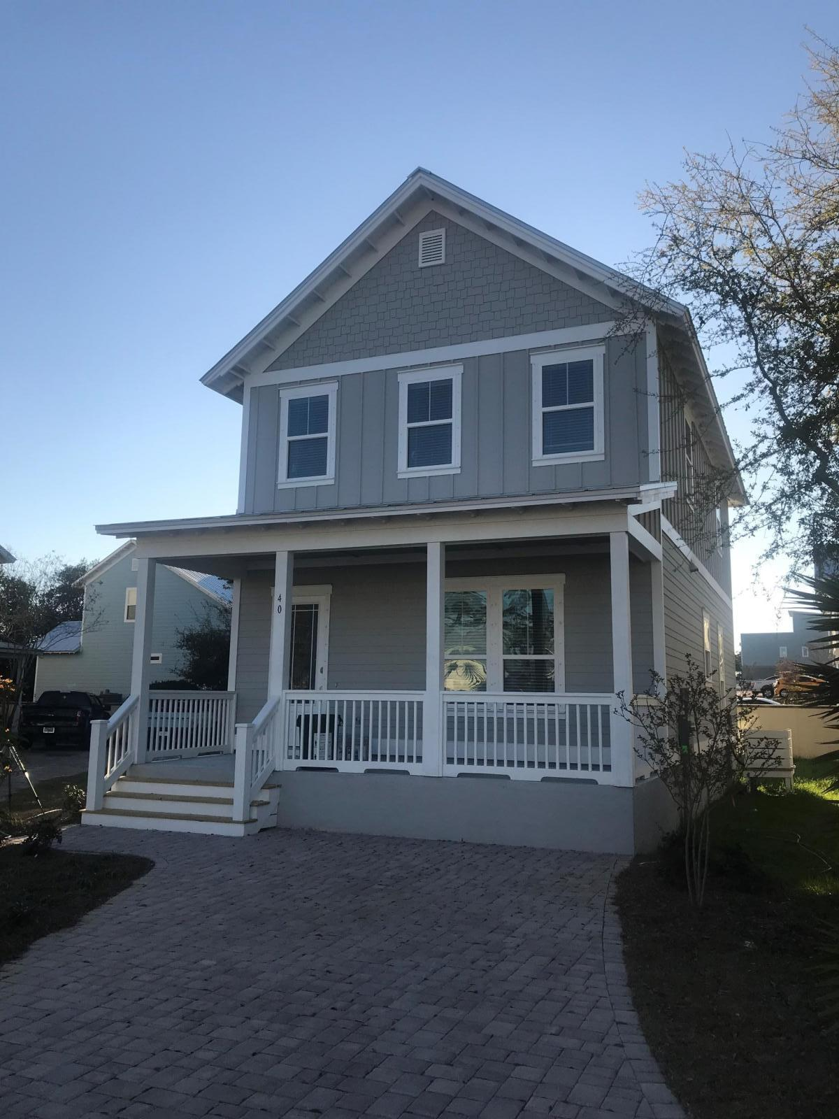 Photo of home for sale at 342 Grande Pointe Circle, Inlet Beach FL