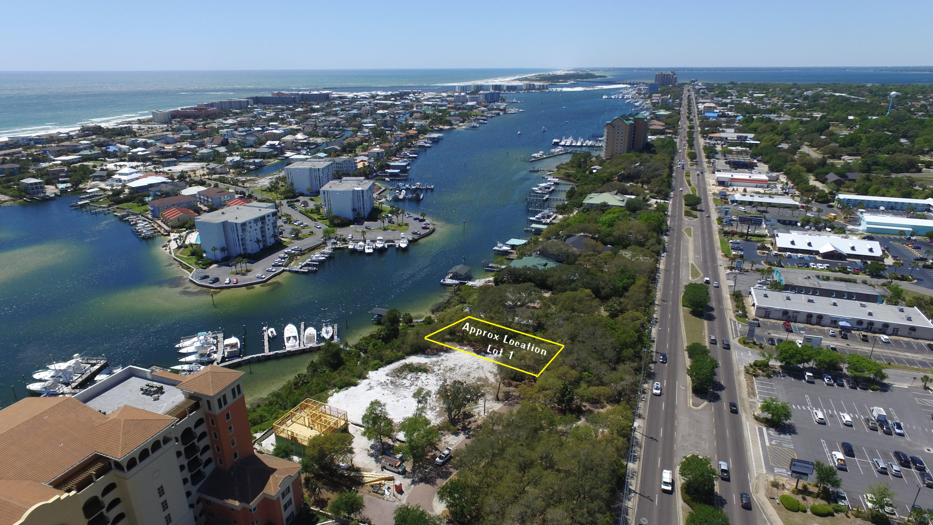 Photo of home for sale at 768 Lot 1 Harbor, Destin FL