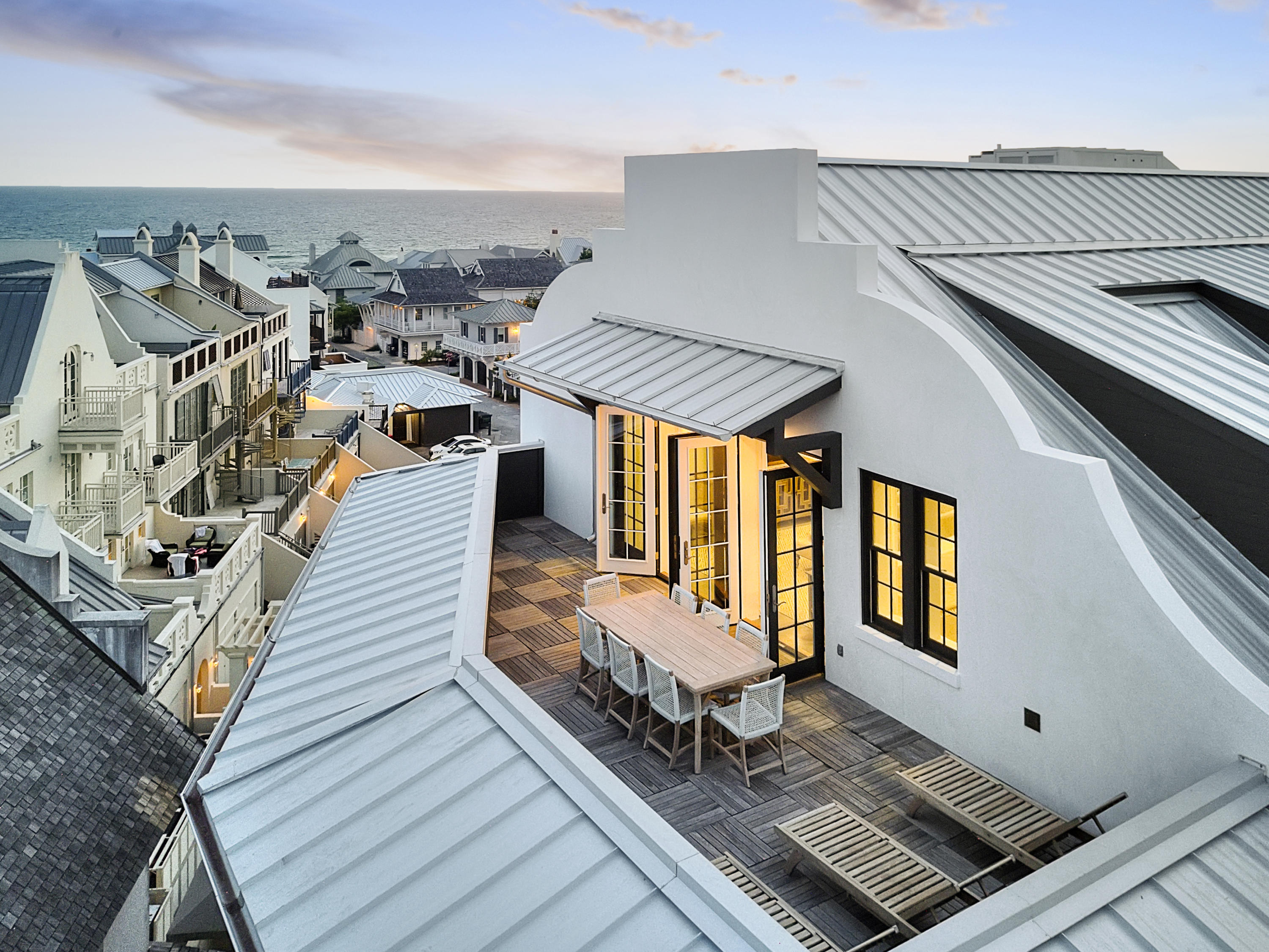 Photo of home for sale at 74 Town Hall, Rosemary Beach FL