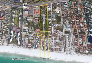 Property for sale at 10+ Acres 270' On Beach;Extends To Hwy98 Circle, Miramar Beach,  FL 32550