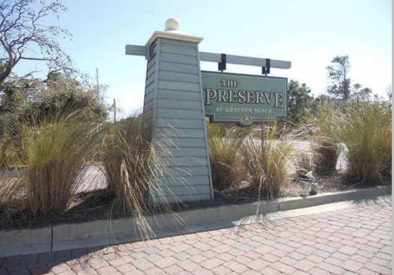 A   The Preserve At Grayton Beach Residential Land