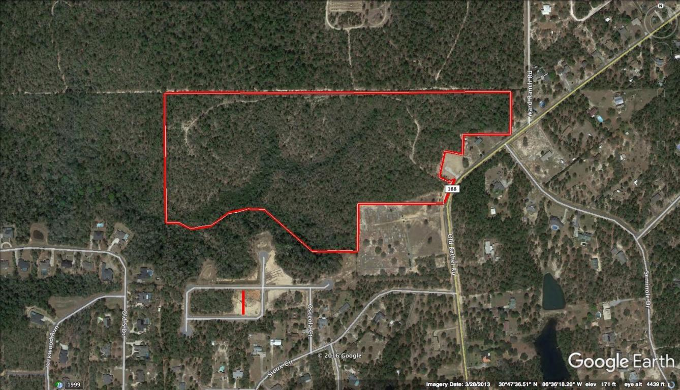 Photo of home for sale at 47 +/- AC Old Bethel, Crestview FL