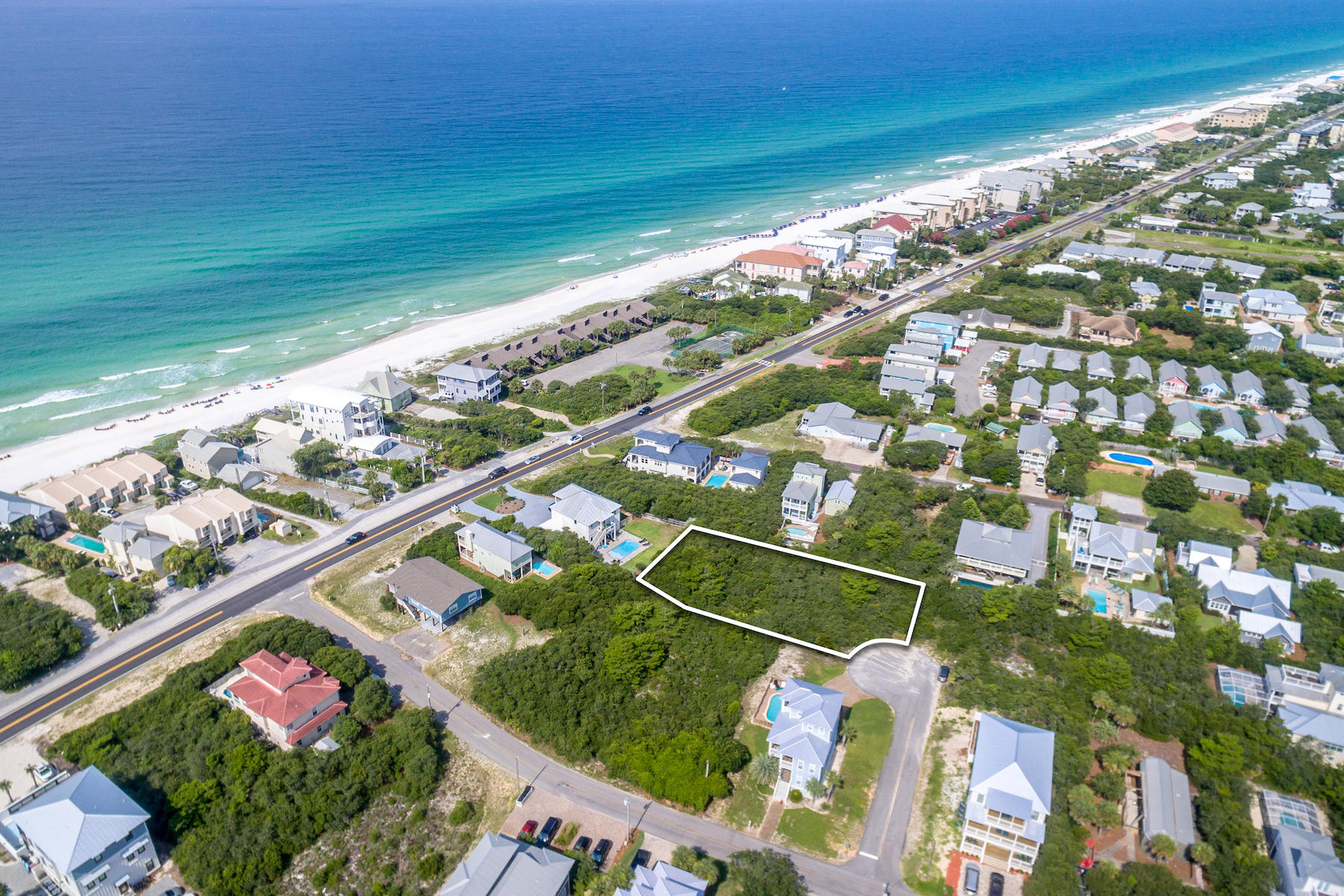 Photo of home for sale at Lot 29 B, Inlet Beach FL