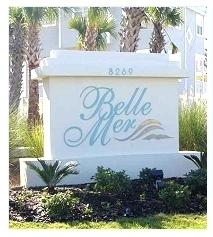 RENOVATION UNDERWAY!!!  Don't miss this opportunity to own this gorgeous West end condo in Belle Mer.  GULF FRONT 4 Bed/4 Bath, 2400+ Sq Ft, Corner unit with sweeping panoramic views of the Gulf and the Sound. 9 Ft. ceilings, two huge balconies, two master suites facing the gulf. Each master suite has a walk-in shower, jetted tub, double vanity and walk-in closet. The other 2 bedrooms have en-suite full bathrooms and endless water views as well. Upon entering, you will be blown away by the beautiful blues of the Gulf of Mexico. The unit is designed so there are windows everywhere. Open floor plan with the living area opening up to a wraparound balcony, large kitchen, kitchen bar and dining area. The Laundry Room is big enough for Washer, Dryer, and a Full Size Refrigerator.