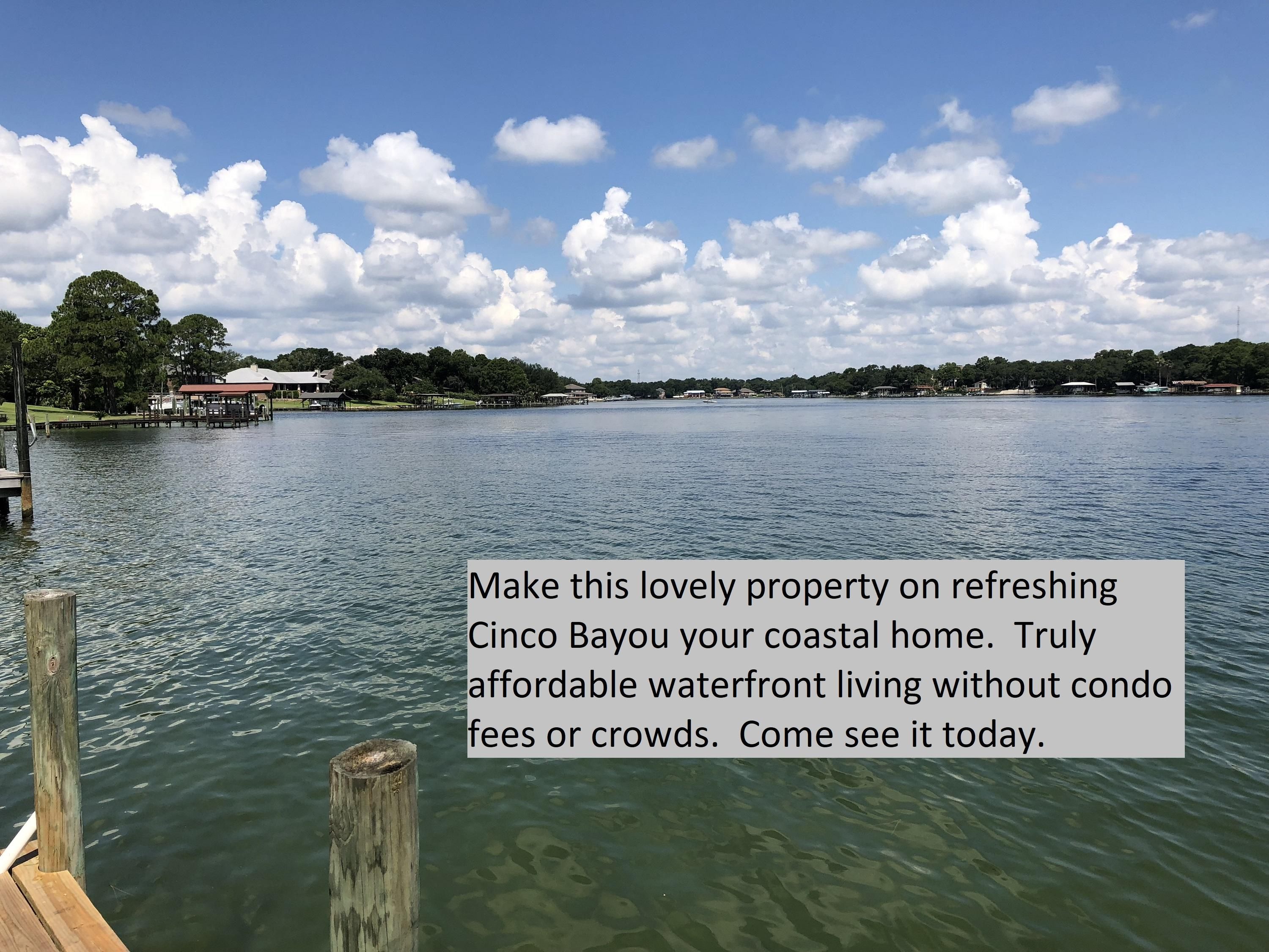 Photo of home for sale at 109 Howell, Fort Walton Beach FL
