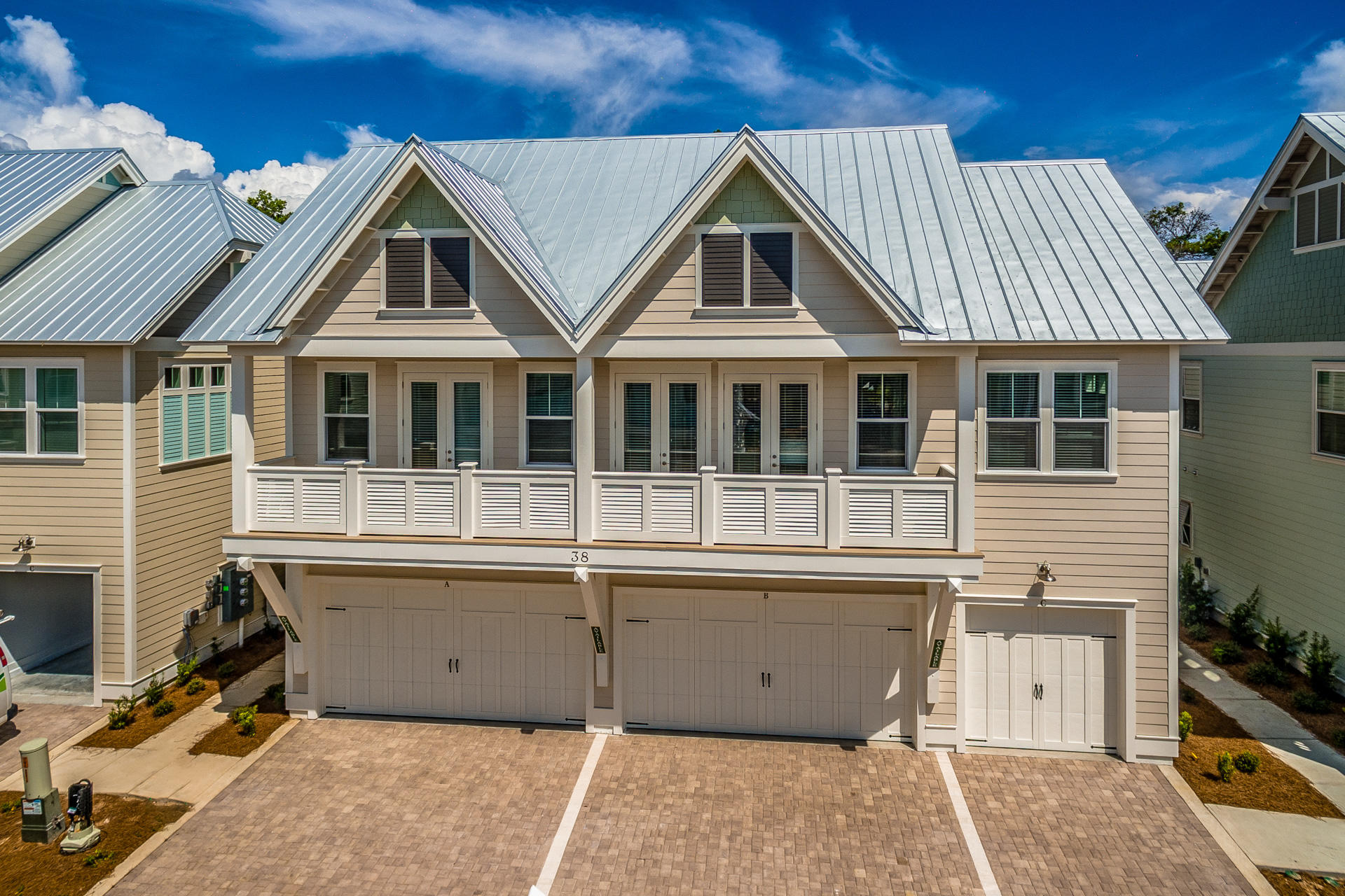 Photo of home for sale at 60 Pine Lands Loop E, Inlet Beach FL