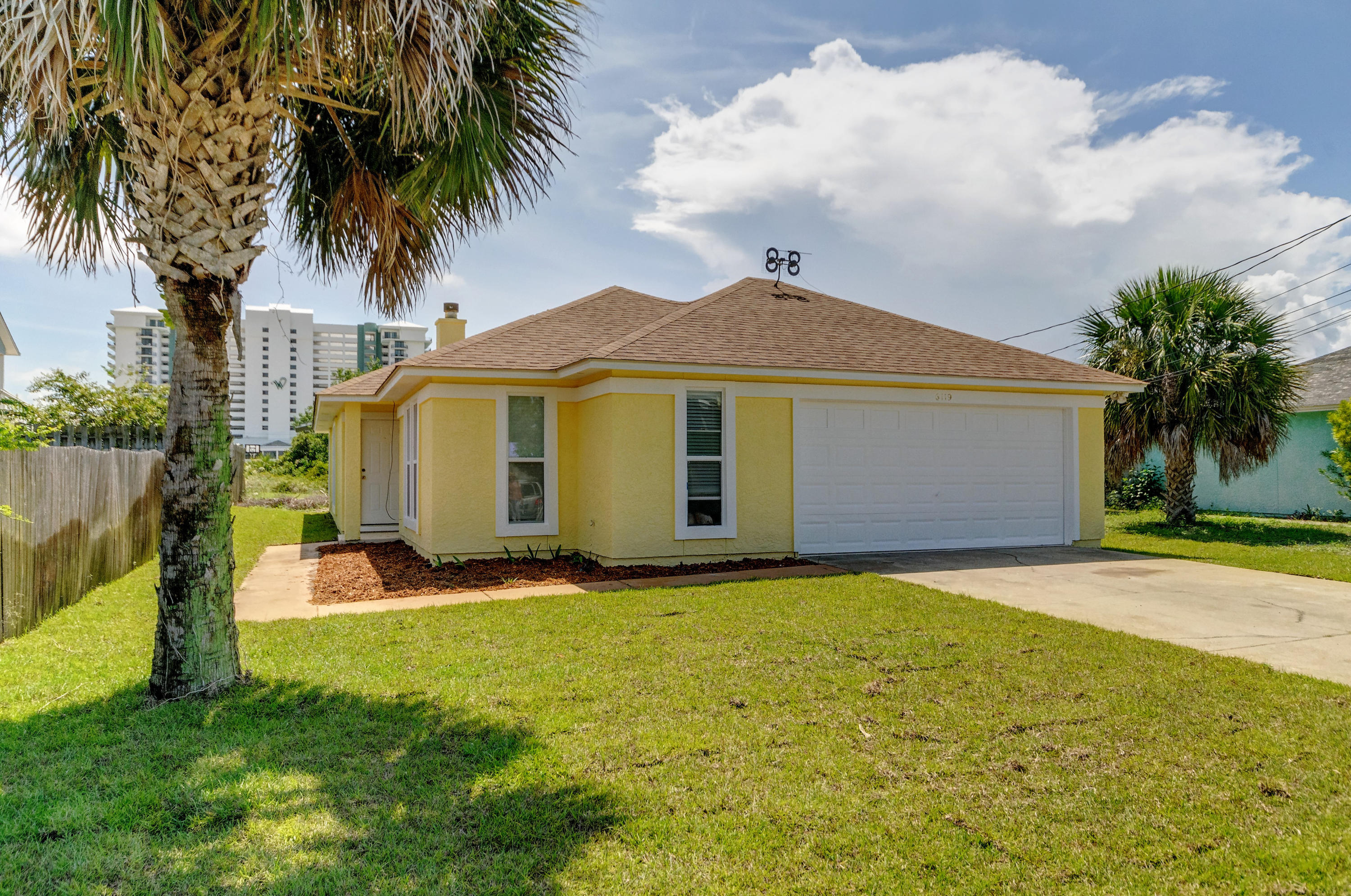 Photo of home for sale at 6119 Sunset, Panama City Beach FL