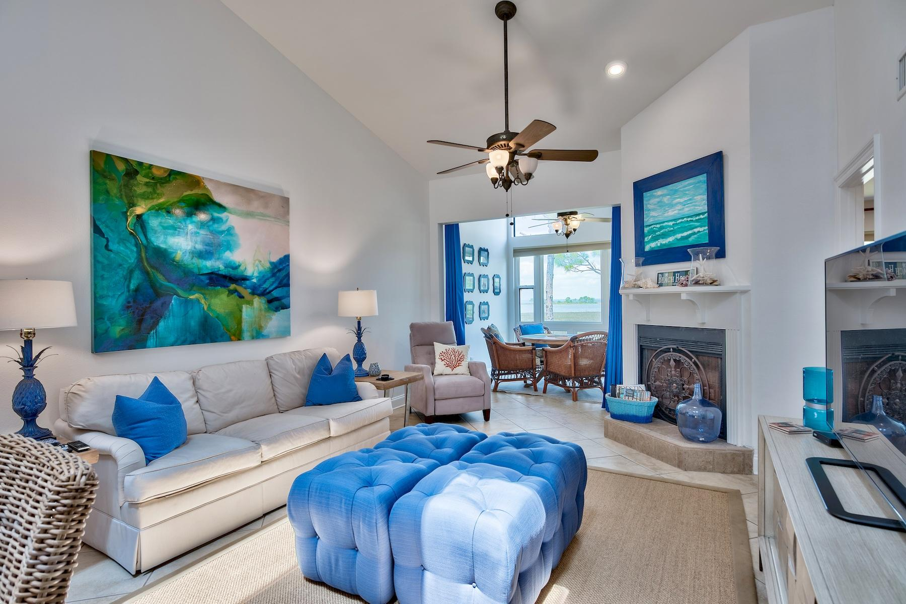 Photo of home for sale at 8989 Heron Walk W, Miramar Beach FL