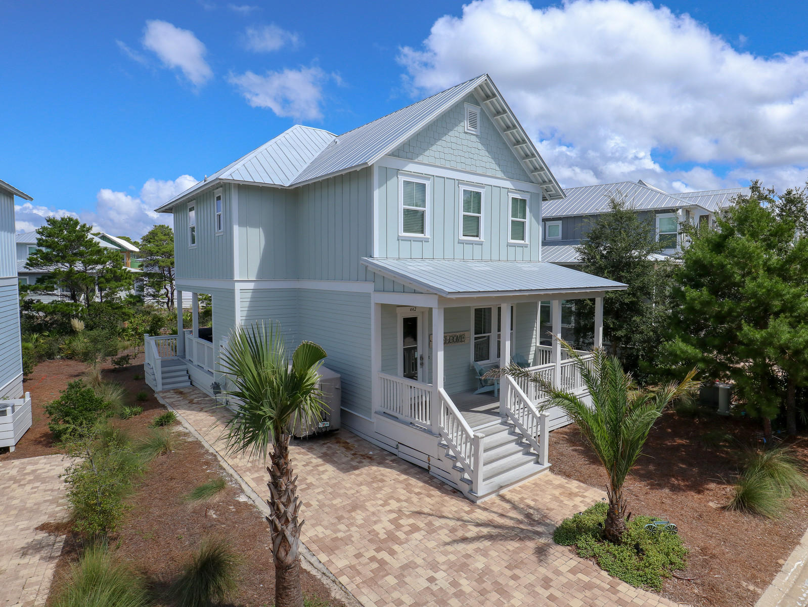 Photo of home for sale at 442 Gulfview, Santa Rosa Beach FL